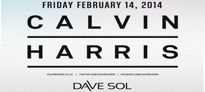 Calvin Harris at STORY South Beach Friday February 14th
