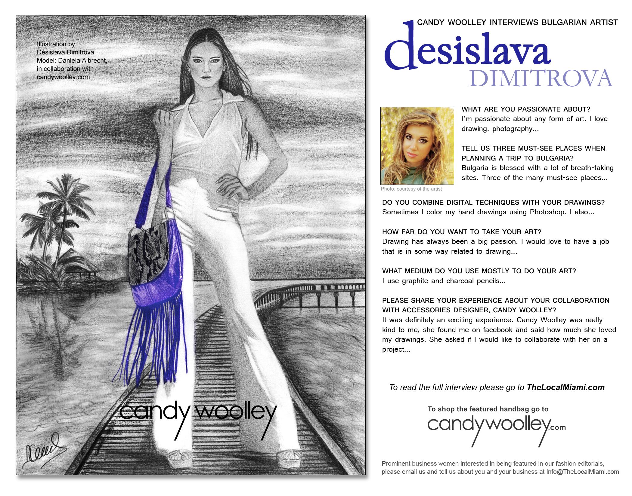 Desislava Dimitrova March 2014 Teaser