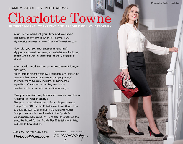 Candy Woolley Fashion Editorial Interview with Attorney Charlotte Towne Teaser