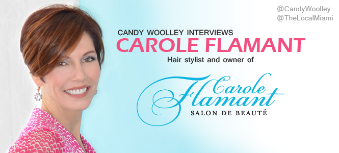 Candy Woolley Fashion Editorial: Salon Owner Carole Flamant