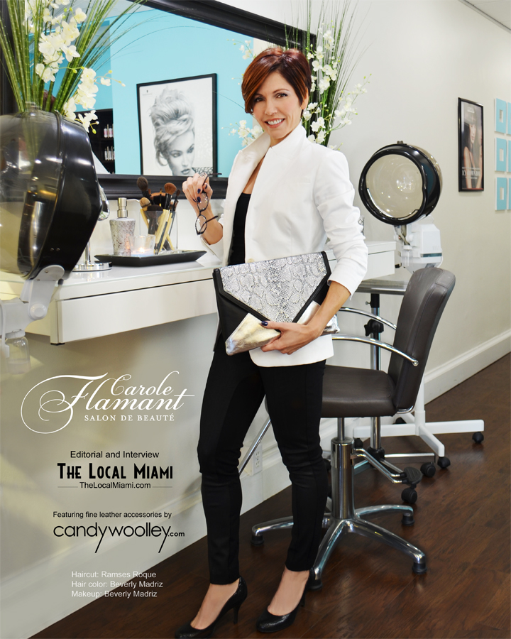 Carole Flamant shows it's all about style, sophistaction & relaxtion at At Carole Flamant Salon De Beaute