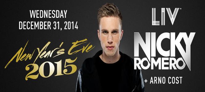 Miami New Years Eve 2015 – Nicky Romero at LIV