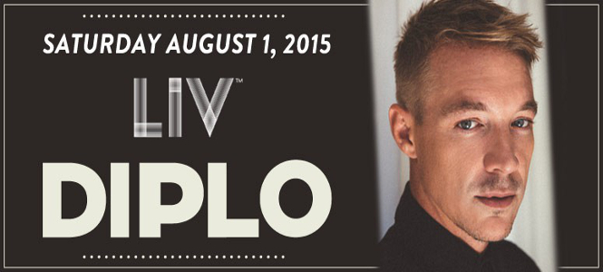 Diplo at LIV Miami August 1st
