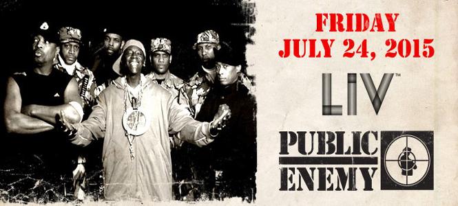 Public Enemy at LIV Miami July 24th