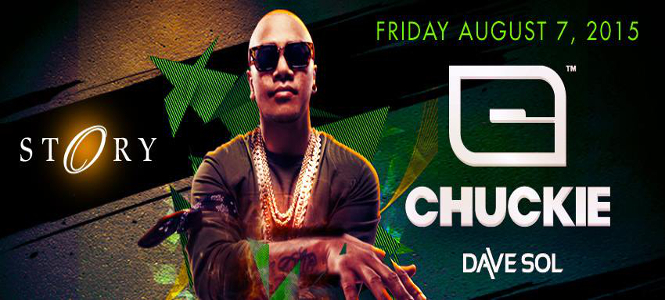 Chuckie at STORY Miami August 7th