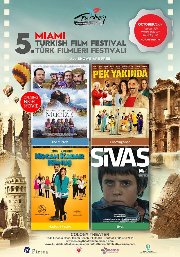 Turkish Film Festival Miami October 13th - 15th