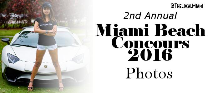 2016 Miami Beach Concours Photos