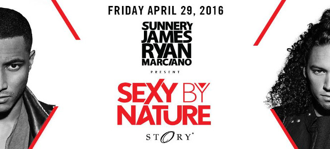 Sunnery James & Ryan Marciano at STORY Miami April 29th