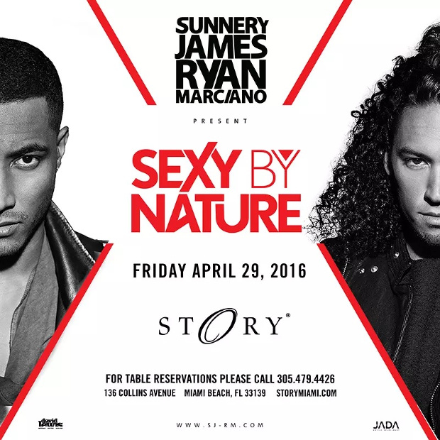 Sunnery James & Ryan Marciano at STORY Miami April 29th